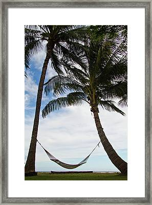 Waiting For You Framed Print by Roger Mullenhour