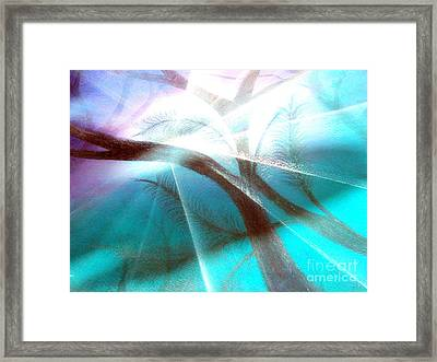 Wake Up In The Forest Framed Print