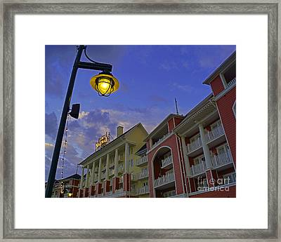 Walt Disney World - Boardwalk Villas  Framed Print