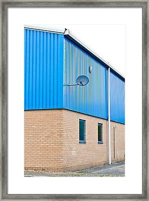 Warehouse Framed Print by Tom Gowanlock