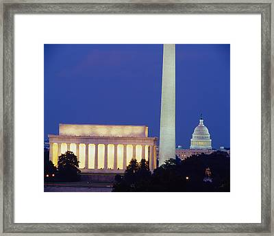 Washington Dc Framed Print by Panoramic Images