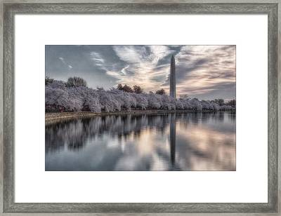 Washington Sunrise Framed Print