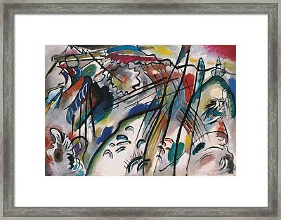 Wassily Kandinsky Framed Print by MotionAge Designs