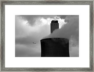 Framed Print featuring the photograph Watch Out by Jez C Self