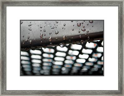 Water  Framed Print by Mark Ashkenazi