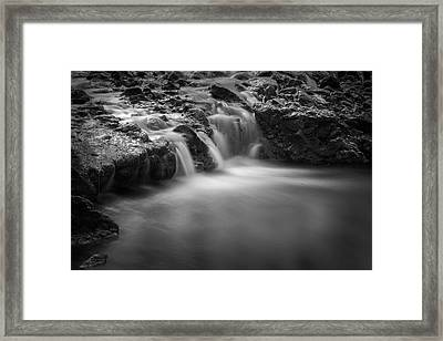 Waterfall  Framed Print by Scott Meyer