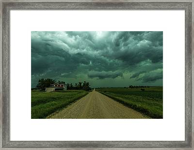 Weathered Framed Print by Aaron J Groen