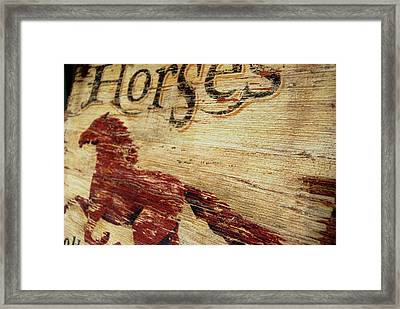 Weathered Art Framed Print by JAMART Photography