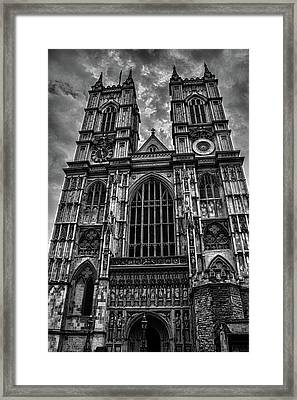 Westminster Abbey Framed Print by Martin Newman