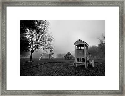 Where Have All The Children Gone Framed Print by Steven Ainsworth