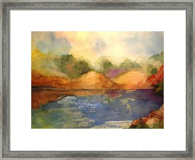 Whimsy Framed Print by Vivian  Mosley