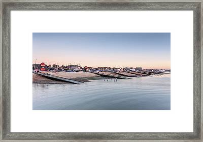 Whitstable Bay  Framed Print by Ian Hufton