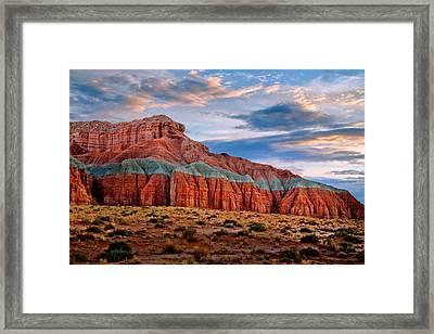 Wild Horse Mesa Framed Print by Utah Images