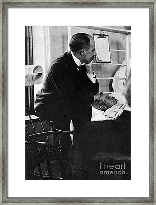 William Osler, Canadian Physician Framed Print by Science Source