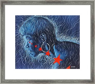 Wilma Framed Print by Shahid Muqaddim