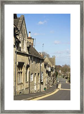 Winchcombe Houses Framed Print