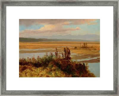 Wind River Country Framed Print