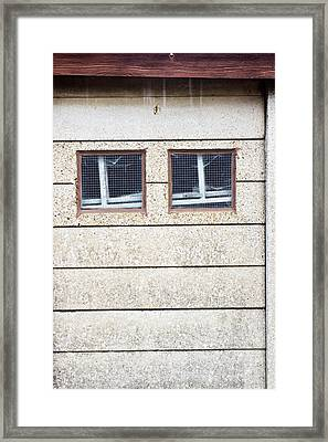 Windows Framed Print by Tom Gowanlock