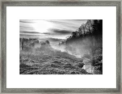 Framed Print featuring the photograph Winter Mist by Thomas R Fletcher