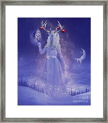Winter Queen Framed Print by Juli Scalzi
