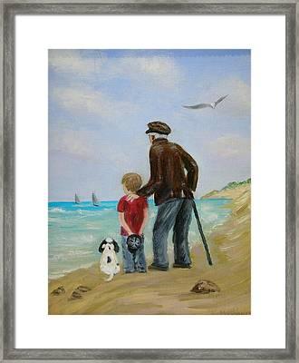 Wishing Framed Print by Kay Mashburn