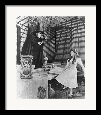 Wicked Witch Of The West Framed Prints