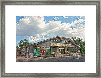 Woerner Warehouse Framed Print