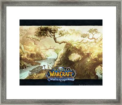 World Of Warcraft Framed Print