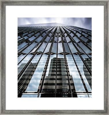 World Trade Center Nyc Framed Print by Robert Ullmann