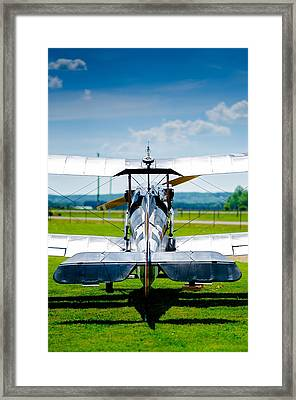 World War 1 Fighter Plane Framed Print by Ralf Weyler