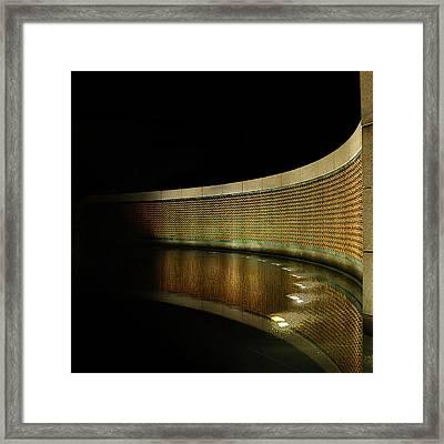 World War II Memorial - Stars Framed Print