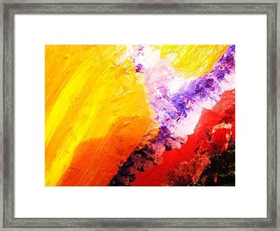 WOW Framed Print by HollyWood Creation By linda zanini
