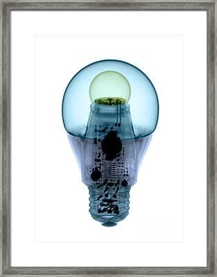 X-ray Of An Energy Efficient Light Framed Print