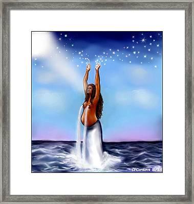 Yemaya - Mother Of All Framed Print