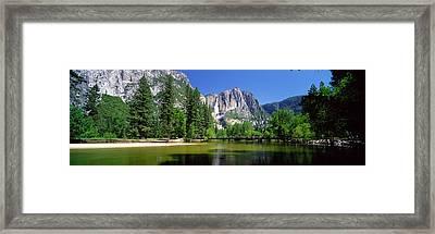Yosemite Falls, Yosemite National Park Framed Print by Panoramic Images