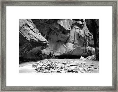 Zion Canyon Framed Print by Matthew Altenbach