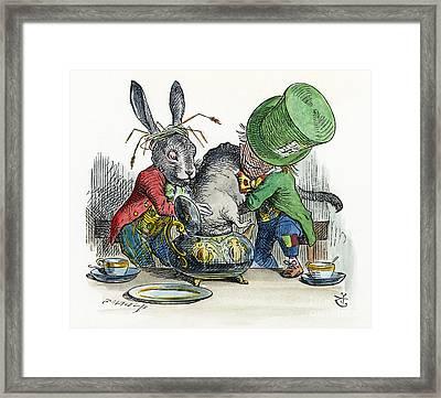 Alice In Wonderland Framed Print by Granger
