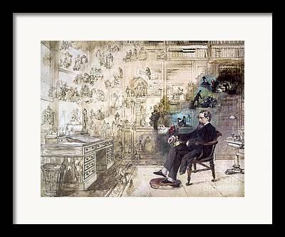 Novelist Framed Prints