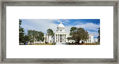 Facade Of A Government Building Framed Print