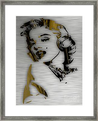 Marilyn Monroe Collection Framed Print by Marvin Blaine