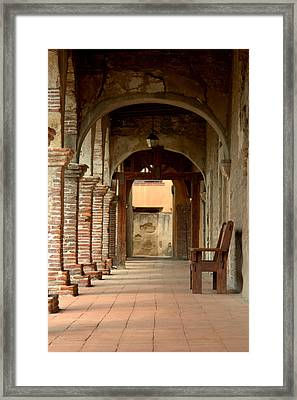 Mission San Juan Capistrano Framed Print by Brad Scott