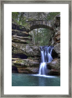 Old Man's Cave Framed Print