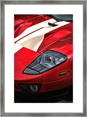 2004 Ford Gt Framed Print by Gordon Dean II