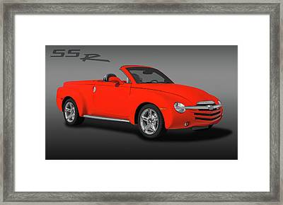 2005 Chevrolet Ssr - Super Sport Roadster  -  2005chevyssrlogo173401 Framed Print