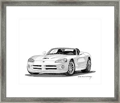 2005 Dodge Srt 10 Roadster Framed Print by Jack Pumphrey