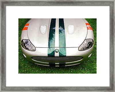 2005 Jaguar X K R Stirling Moss Signature Edition Framed Print