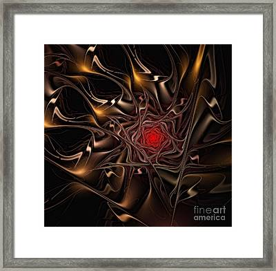 2006 Abstract Passion Framed Print