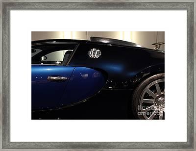 2006 Bugatti Veyron - 7d17281 Framed Print