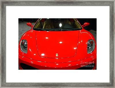 2006 Ferrari F430 Spider . 7d9383 Framed Print