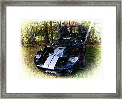 2006 Ford Gt Framed Print by Mike Martin